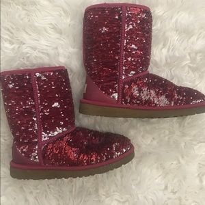 Sequin UGGs